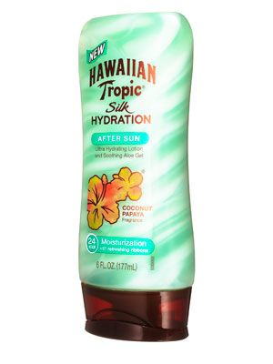 Cool off summer skin with whipped aloe. Hawaiian Tropic After Sun, $8 http://www.cosmopolitan.com/hairstyles-beauty/skin-care-makeup/july-budget-friendly-beauty#slide-4