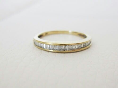 Popular Wedding Band Rings Diamond Bands Baguette Stacking Muslim Couples Something Old