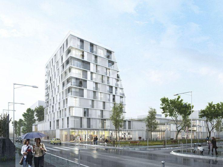 Galería de Propuesta Ganadora para Colegio y Residencia Estudiantil / Chartier Dalix Architectes - 10