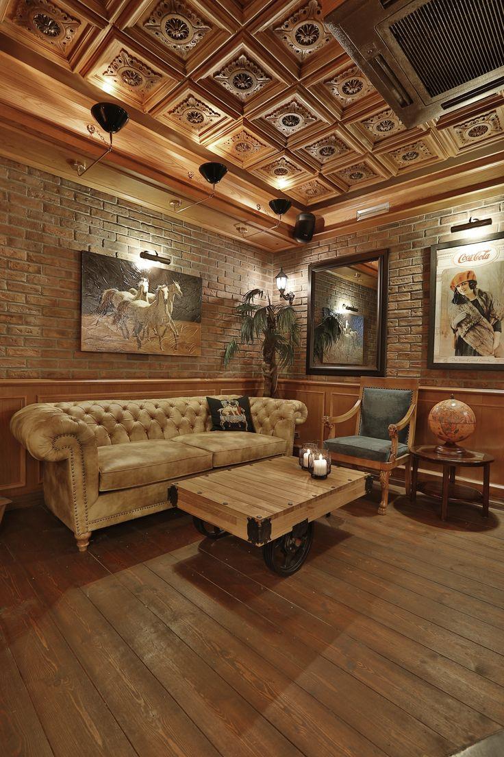 old english pub interior design #rendahelindesign #design #works #interiordesign #interior #decoration #oldenglishpub #bagdatcadesi