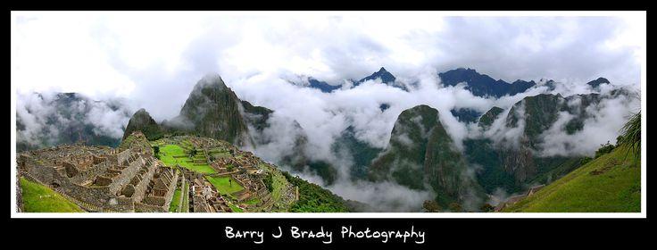 Machu Picchu, Lost city of the Inca's in Peru