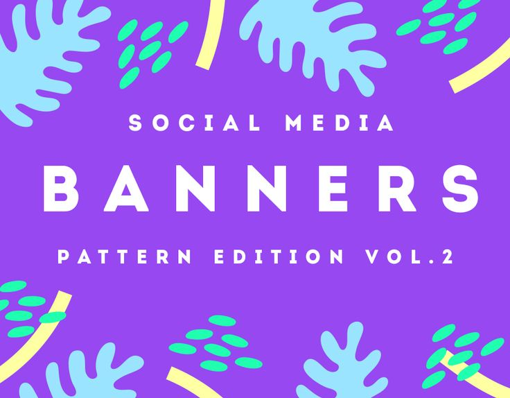 """다음 @Behance 프로젝트 확인: """"Fancy Pattern Social Media Banners"""" https://www.behance.net/gallery/36067837/Fancy-Pattern-Social-Media-Banners"""