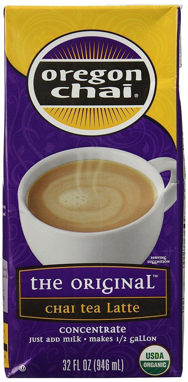 Oregon Chai Chai Tea Latte Concentrate, 32 oz