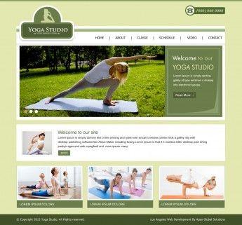 364 best Yoga Studio Website Design images on Pinterest