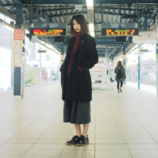 ドロップスナップ!三井麻央 (みつい・まお), モデル (now fashion) | droptokyo