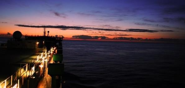 """""""Sunsets are overrated""""    This amazing photo was Submitted by George neil paraoan.  from Marine Insight Contest Photos.     www.marineinsight.com"""