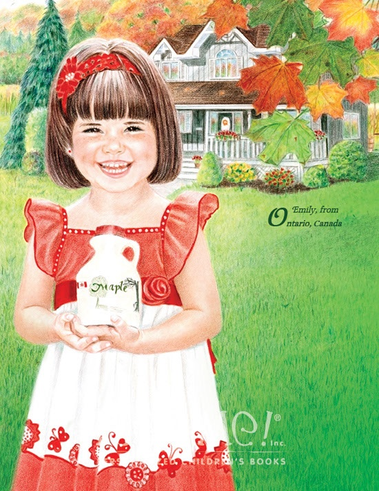 """Ontario - As featured in """"My Very Own World Adventure"""" personalized children's book by I See Me!"""