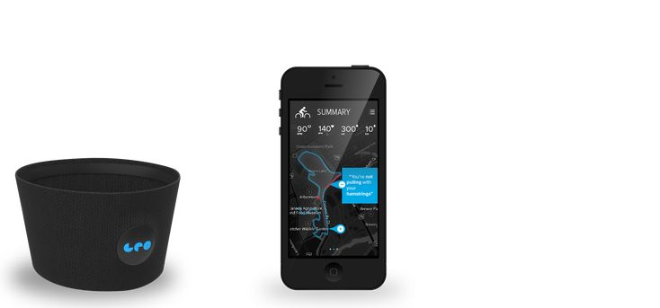 LEO - new fitness tracking tool.  Extremely cool.  Tracks the following: Heart Rate Calories Speed Cadence Distance Location Time Acceleration Weather Conditions Pace Price = $299