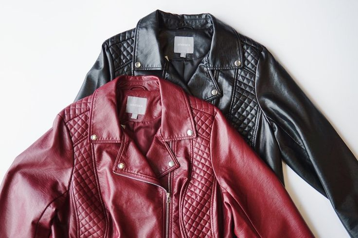 red black (imagine white or blush or any other colour) leather jacket TripleA