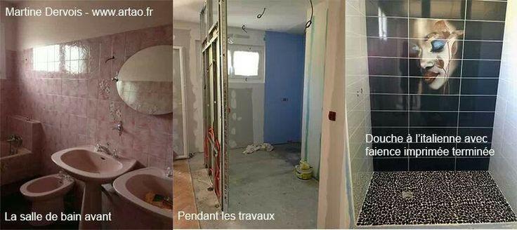 Rénovation d'une salle de bain à Artigues