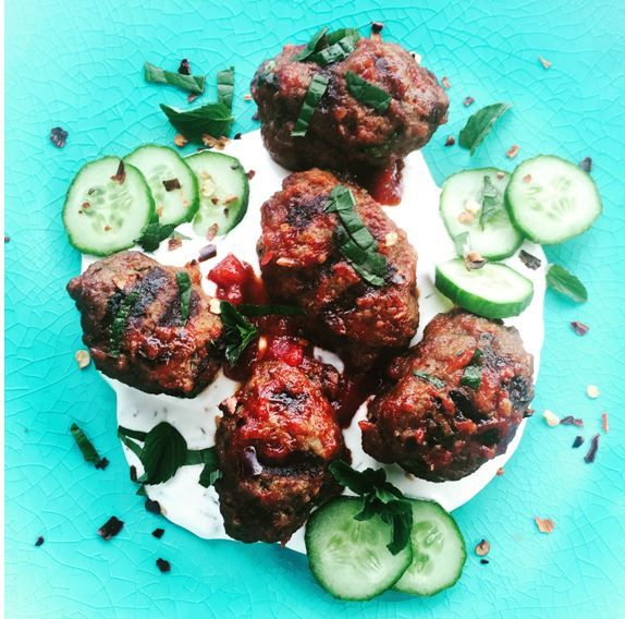 A sneak-peek into A Spicy Touch! find the recipe for Beef Shish Kebabs here.