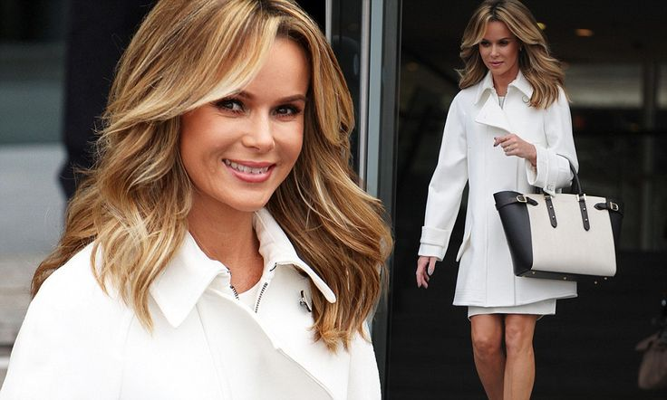 Amanda Holden steps out for Britain's Got Talent auditions