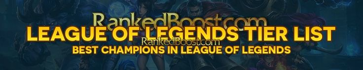 The #league of #legends #champions at #Ranked Boost is providing the tier list in the name of #LOL Tier list 6.13 for the #gamers. The tier list is based on the preference pick within the list and exists several other strong and easier #champion picks in the current lol Meta.