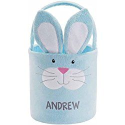 Personalized Easter Friends Plush Baskets