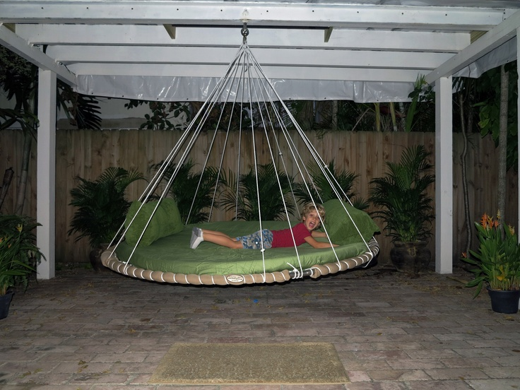 The 18 best images about family children 39 s floating beds for Suspended beds for kids