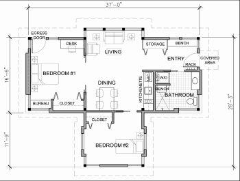 Accessory dwelling unit floor plans gurus floor for Accessory dwelling unit floor plans