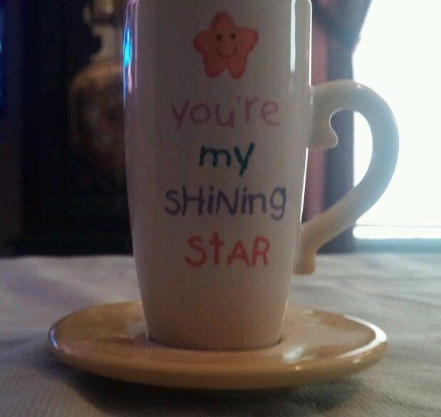 YOU'RE MY SHINING STAR MINI MUG in Collectibles   eBay