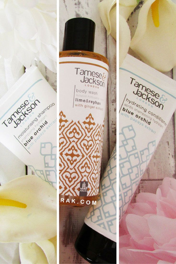 Tamese & Jackson Shampoo, Conditioner and Body Wash review. Halal certified cosmetics with no Parabens, animal products and alcohol? Check out my review of Tamese & Jackson. | Humairak.com