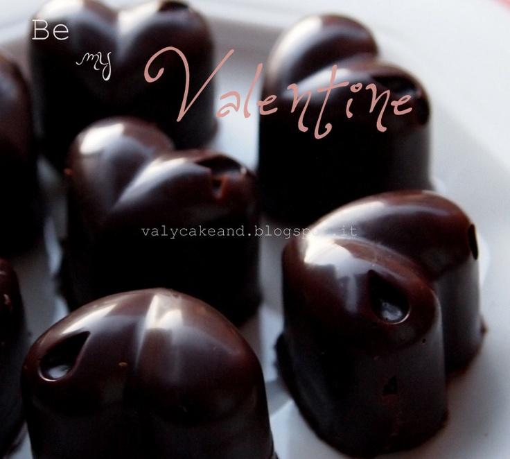 Valentine fudge chocolate http://valycakeand.blogspot.it/2013/02/be-my-valentine.html