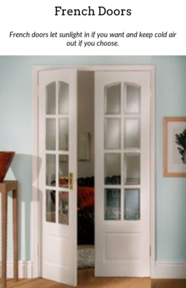 French Doors Incorporate A Bit Of Elegance To Your House With