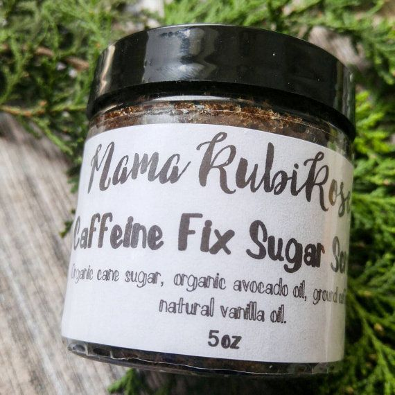 Check out this item in my Etsy shop https://www.etsy.com/listing/273004016/caffeine-fix-sugar-scrub-coffee-sugar