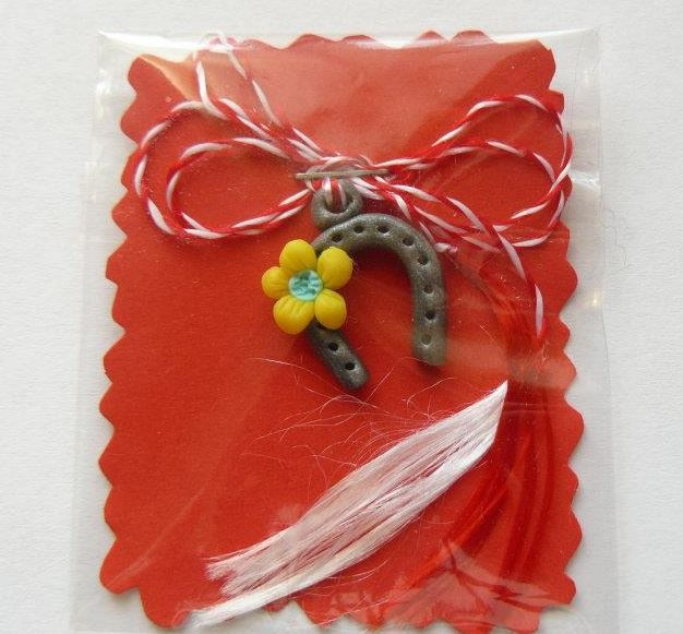 ''Martisor'' traditional romanian gift at the Spring Coming Celebration, 1-st March