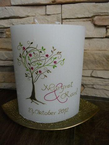 Hochzeitskerze Lebensbaum modern.JPG 350×467 Pixel