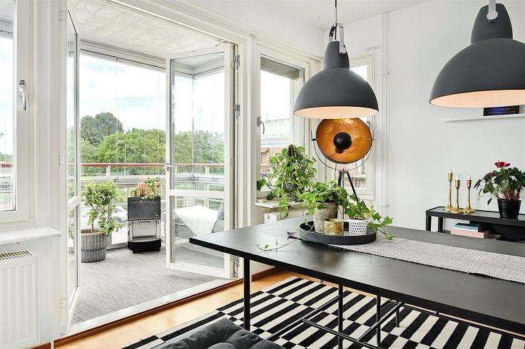 Dekoration på matbord, köksbord, matplats