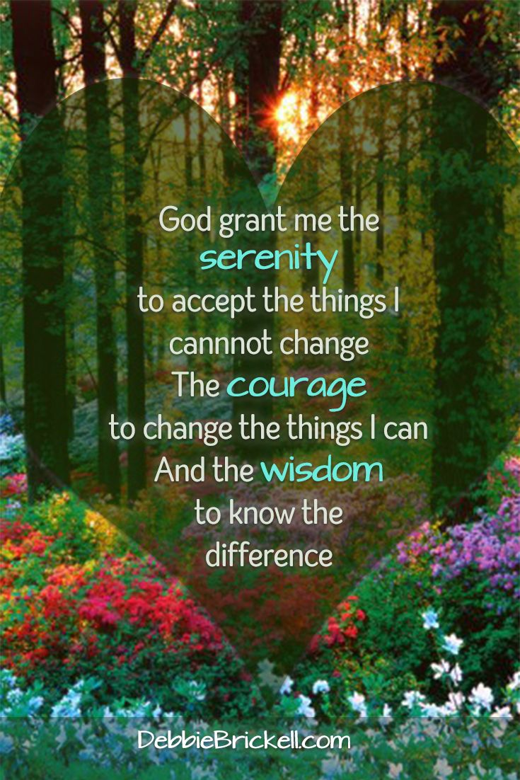 As I listened in this morning I received a reminder to focus my attention on the Serenity Prayer this morning.  I release all fear, resentment, anger and judgment and replace it with peace, love, serenity and inner inspiration. Whatever is taking place in the outer world only has influence on me if I allow it to.  Sending peace and love out into the world today to be used wherever it is wanted or needed.