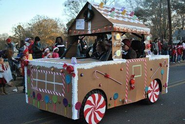Trussville Christmas parade photo Gingerbread house.jpg