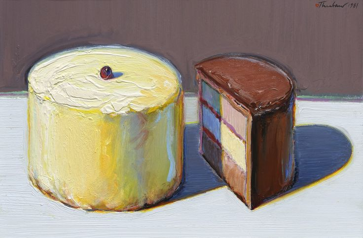 Cake Similar Artists : Pin by Charity Lane on Thiebaud Pinterest Art, Artists ...