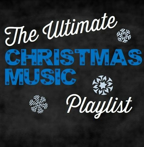 A huge and eclectic Christmas music playlist - perfect for holiday parties or anytime!