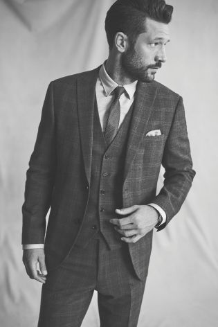 The 25  best Grey check suit ideas on Pinterest | Prince of wales ...