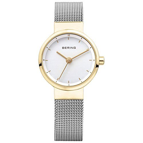 BERING Time 14426010 Womens Solar Collection Watch with Mesh Band and scratch resistant sapphire crystal Designed in Denmark -- Read more  at the image link.