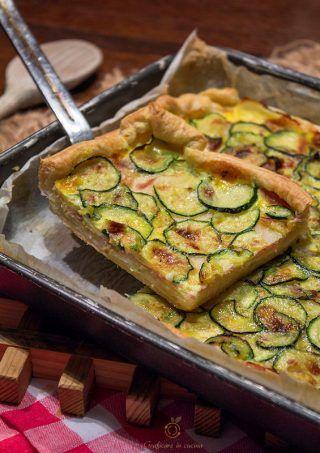 Quiche di patate, zucchine, prosciutto e mozzarella http://blog.giallozafferano.it/graficareincucina/quiche-di-patate-zucchine-prosciutto-e-mozzarella/