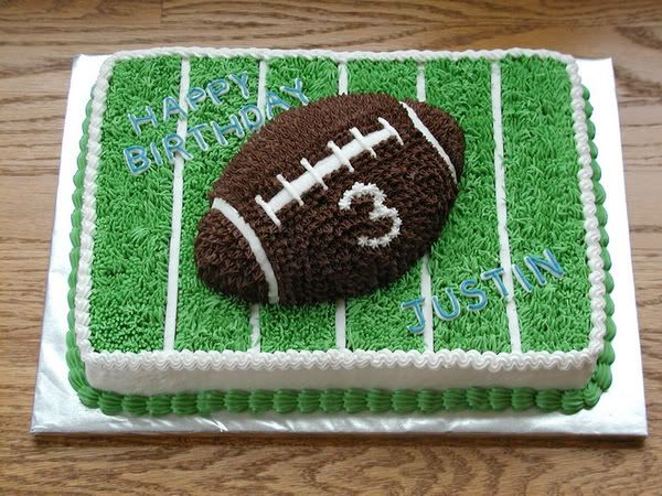 Cake Decor Football : Best 25+ Football cake decorations ideas on Pinterest ...