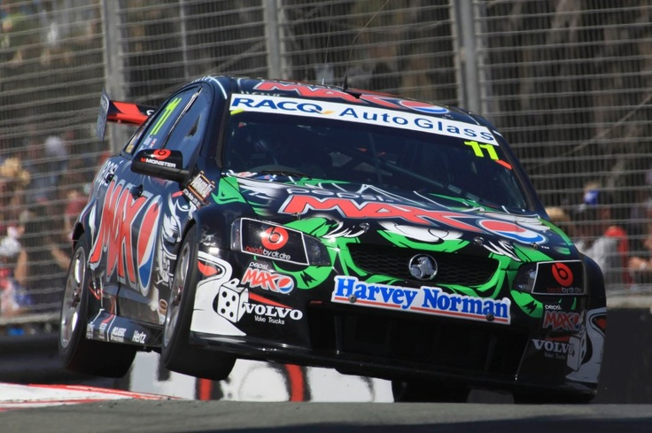 Australian V8 Supercar - The Kelly Racing Holden Commodore of Greg Murphy and Oliver Gavin during the Armor All Gold Coast 600 in 2011 (Photo LAT)