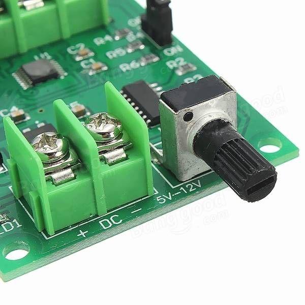 Contrôleur de carte de pilote de moteur brushless 5V-12V DC pour moteur de disque dur 3/4 fil Vente - Banggood.com
