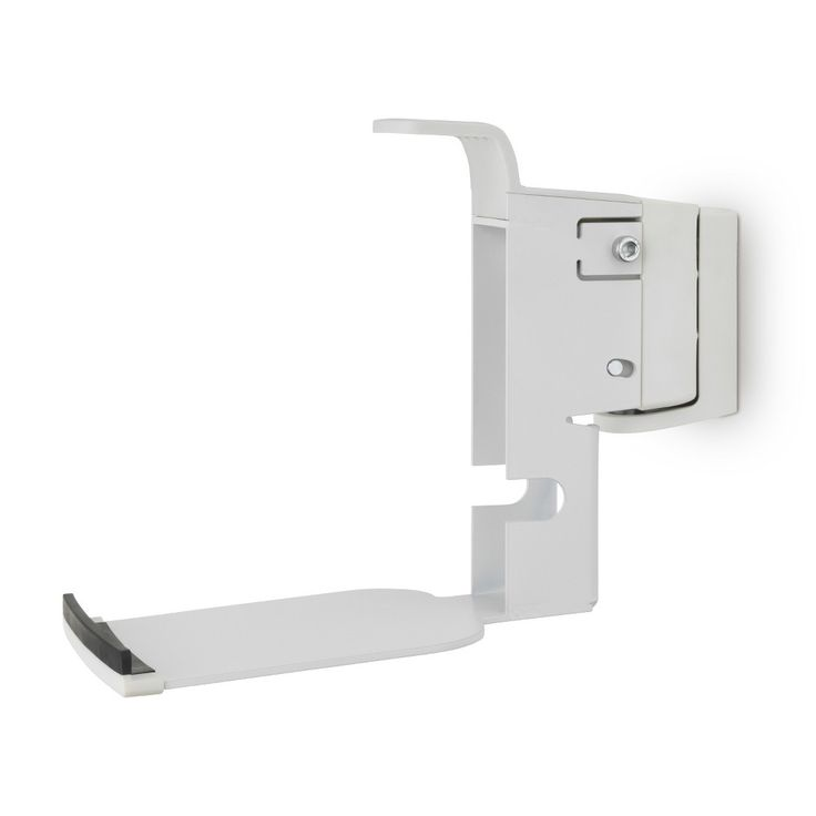 Flexsom Wall Mount for Sonos Play:5 (2nd Gen) Speakers - White (single)