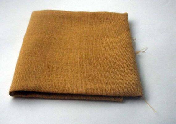 Yellow Burlap /Hessian Fabric