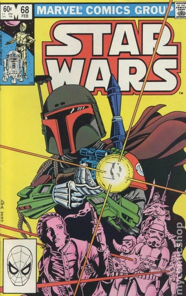 Star Wars #68, Boba Fett, Art: Gene Day | Comic art ...