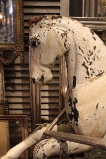 ~♥~ too adorable not to pin ~♥~ wooden horse