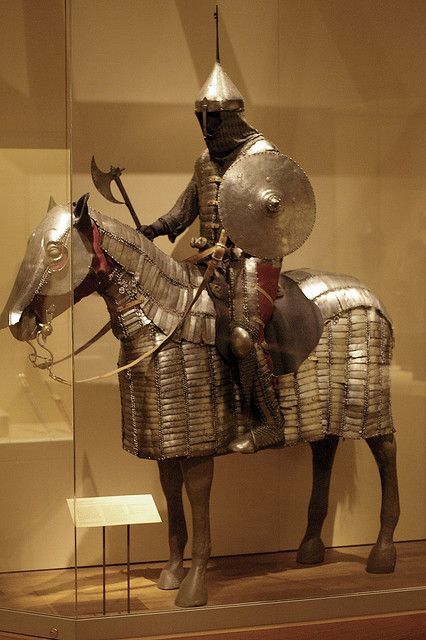 Syria, Persia (Iran), and Turkey, 1450-1550. Composite armour of typical Persian heavy cavalry.