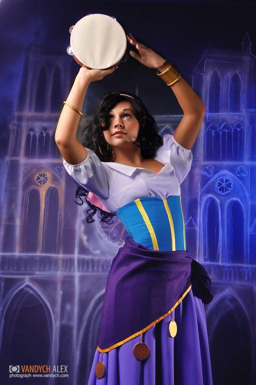 The Hunchback of Notre Dame Esmeralda Cosplay