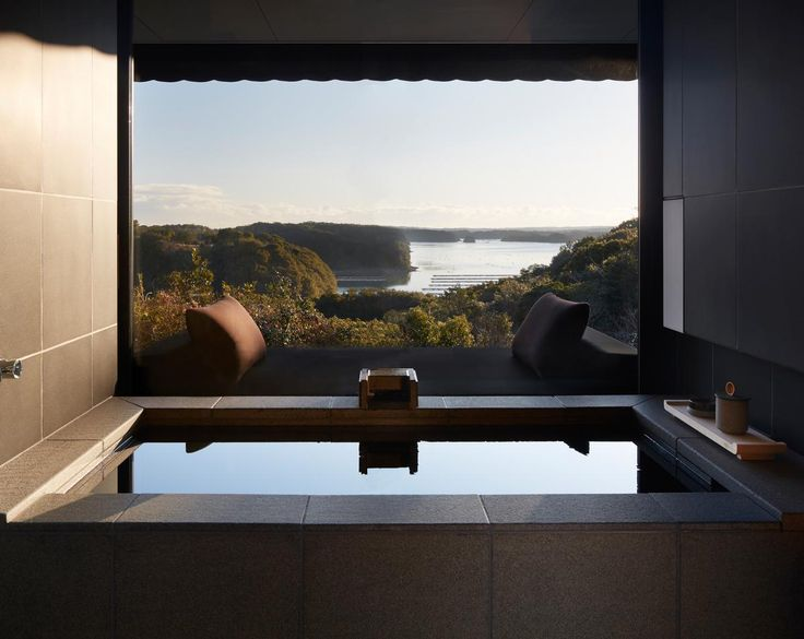 Architecture and design news from CLAD - Private onsens, Watsu suites and traditional Japanese Obi art star at Amanemu hot springs resort