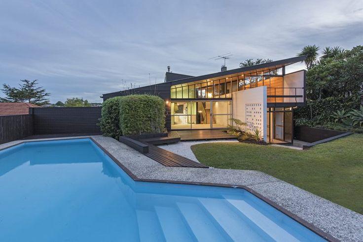 Mid century design architecture, Remuera, NZ