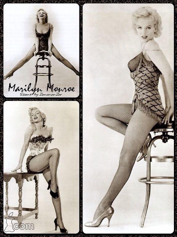 Marilyn Monroe.                                                                                                                                                     More