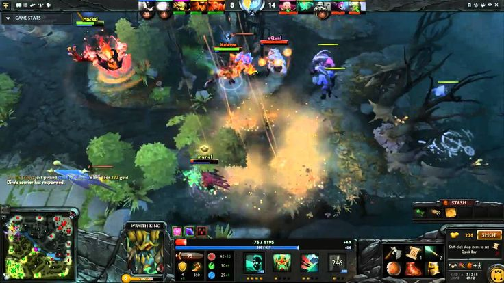 Dota2 Live Stream - Radiant Vs Dire (25.09.2015)