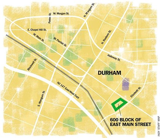 Don't let Durham Police headquarters screw up East Main Street