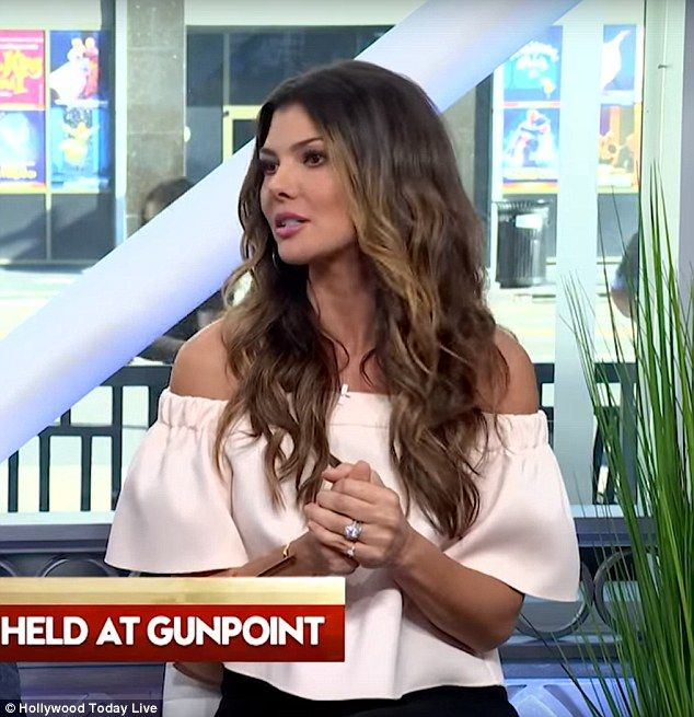 She can relate: Hollywood Today Live guest host Ali Landry got emotional on Monday's show while discussing Kim Kardashian West's armed robbery in Paris on Sunday night